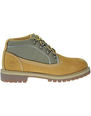 6Inch Campsite Big Kids Boots White Nubuck 9496r