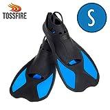 TOSSFIRE Swim Fins Short Floating Image