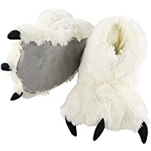 White Bear Paw Adult Slippers