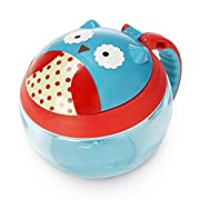 Skip Hop Baby Zoo Little Kid/Toddler Snack Cup, Otis Owl, Multi