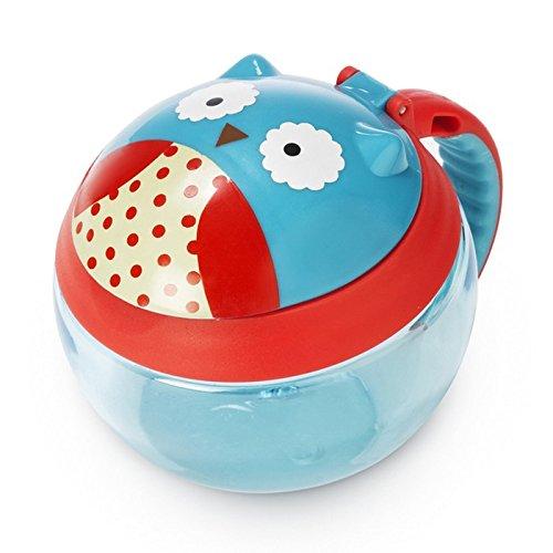 Skip Hop Baby Zoo Little Kid/Toddler Snack Cup, Otis Owl, Multi