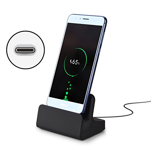 Olycism USB C Charging Dock fast Charge USB Type C Stand Cradle Station for Samsung Galaxy A3, A5(2017release), Huawei P9, Nexus 5X, Google Pixel, Nexus 6P and Other USB-C Devices