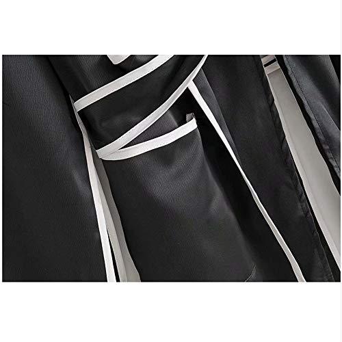 New Per Camicia Camicia Color Schiena A Allentata Vintage Cintura A Fessura Photo Camicia Femme Stile Cinturini Legati Meaeo Risvolto 2018 La Donna Con Pigiama gqH0Inx