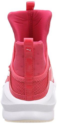 Donna Pink White Rosa Sportive Indoor Paradise Puma Fierce Core puma Scarpe xwpnXA8