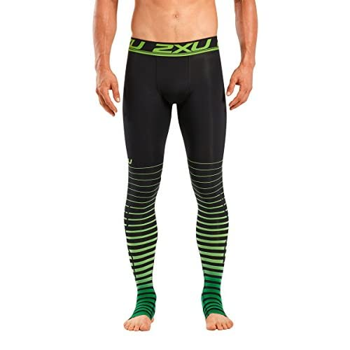 Hot 2XU Men's Elite Power Recovery Compression Tights [5WarK0503477  hot sale