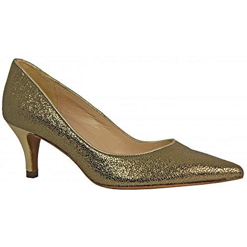 Peter Kaiser SASKIA - zapatos de tacón cerrados de cuero mujer amarillo - Gelb (GOLD RISTAL CORFU 564)