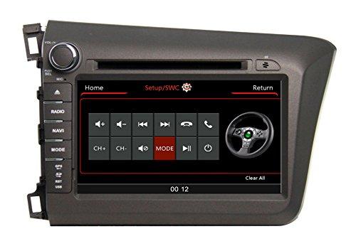 Zestech 8 Inch For Honda Civic 2012 Touch Screen Car Dvd