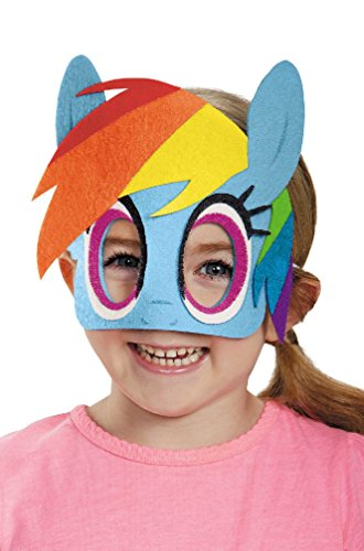 [8eighteen My Little Pony's Rainbow Dash Felt Child Mask] (My Little Pony Costume For Dogs)