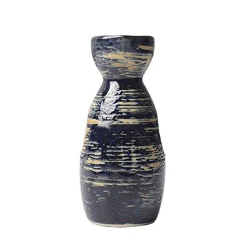 FANCY PUMPKIN Japanese Style Traditional Sake Bottle Sake Pitcher Greative Gift, 03 by FANCY PUMPKIN
