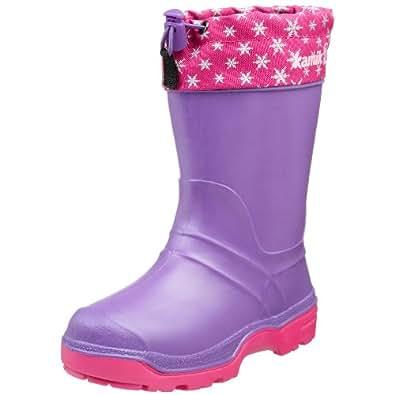 Kamik Snowkone 5 Cold Weather Boot (Toddler/Little Kid/Big Kid),Lilac,9 M US Toddler