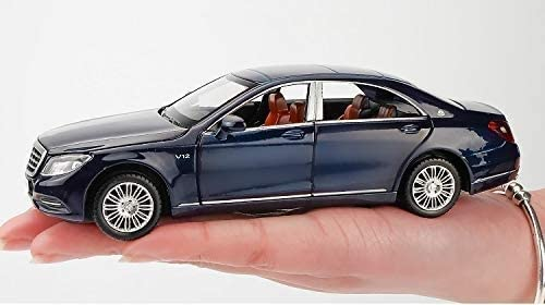 Color : Dark Blue Sooiy Mod/èle de Voiture Mod/èle 1:32 Alliage de Moulage sous Pression en Alliage mod/èle Musique l/ég/ère 6 Porte Peut Ouvrir Les Cadeaux pour Enfants mod/èle de Voiture Model Cars