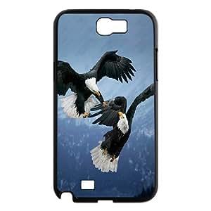 Samsung Galaxy Note 2 Cases Divine Spirit ,eagle, [Black]