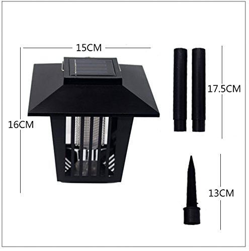 Killer Zapper Lamp Garden Lawn Light Mosquito Killer Water-proof Zapper Lamp Garden Lawn Light by LitleMat (Image #3)