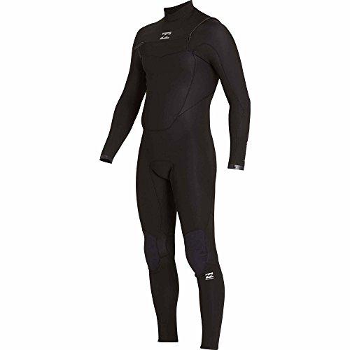 Billabong Men's 4/3 Absolute Comp Chest Zip Fullsuit Black - Wetsuit Lt