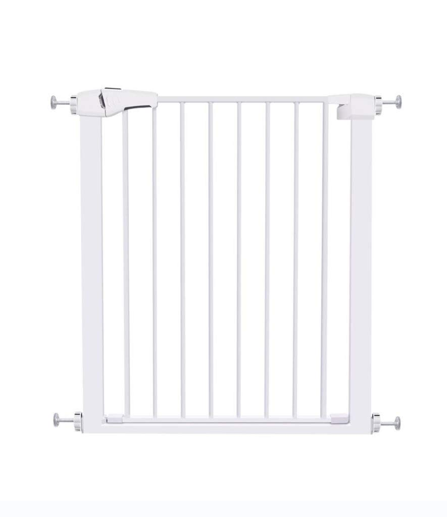 特大自動閉鎖防犯ゲートフィット階段または出入り口、60 cmワイドオープニング簡単ウォークスルーペットゲート(サイズ:120-127 cm) 120-127cm  B07SZTY2KF