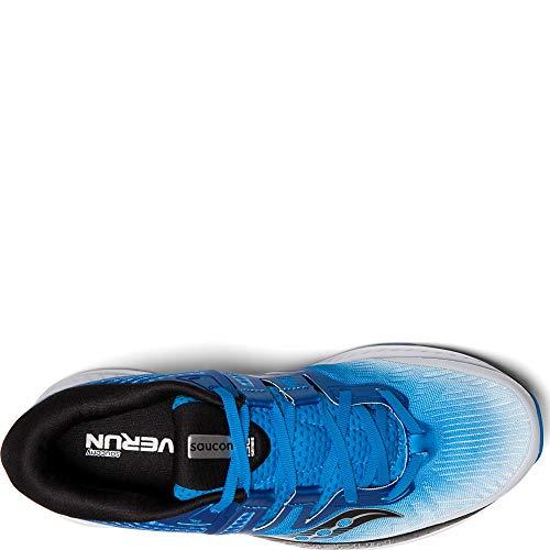 Hombre Zapatillas azul Iso negro Blanco Para Running Ride De Saucony FpwT46q