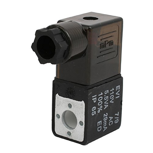 (uxcell EVI7/9 AC110V 5.5VA Replacement Electrical Pneumatic Solenoid Valve Coil)