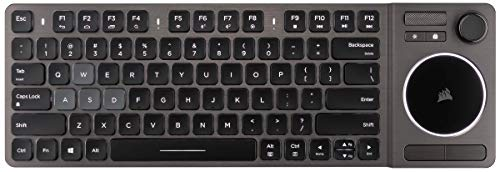 Corsair K83 Wireless Keyboard - Bluetooth and USB - Works w/PC, Smart TV, Streaming Box - Backlit LED