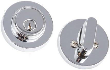 Polished Brass Sure-Loc CD107 3 Cedar Entry Lever