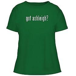 Bh Cool Designs Got Ashleigh Cute Women S Graphic Tee Green Small