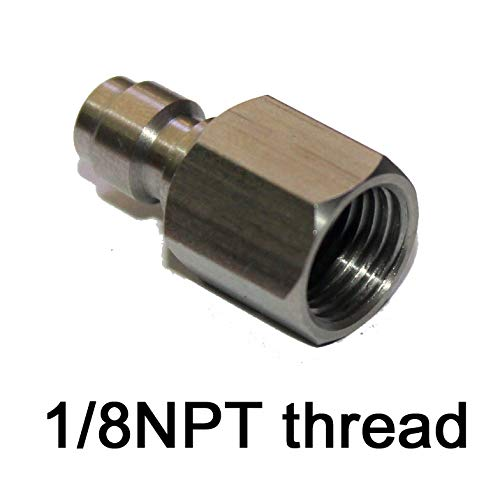 Outdoor Guy Inner Thread 1/8'' NPT Male Quick Disconnect Adaptor Stainless Steel Fill Nipple (1 PCS) by Outdoor Guy