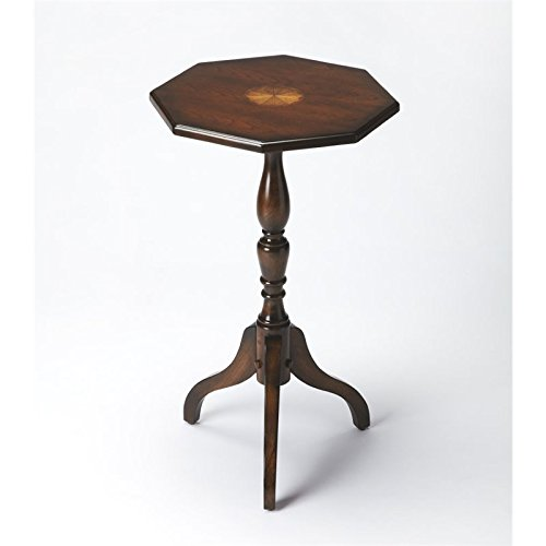 BUTLER 3513024 ARCHAMBAULT PLANTATION CHERRY OCTAGONAL PEDESTAL TABLE
