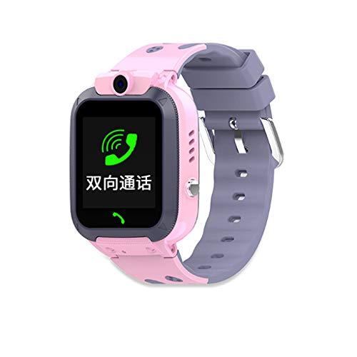 Larmly Kids 1.4 Inch Intelligent Two-way GSM Audio Alarm LBS Tracker Smart Watch Calculator Recording(Pink) (Best Calories Burned Calculator)