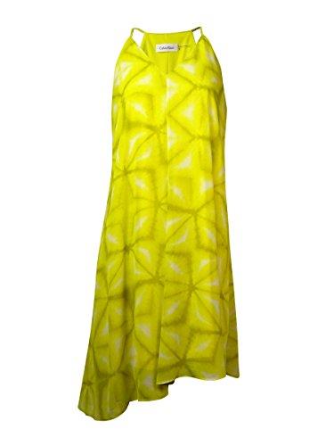 calvin klein abstract print maxi dress - 3