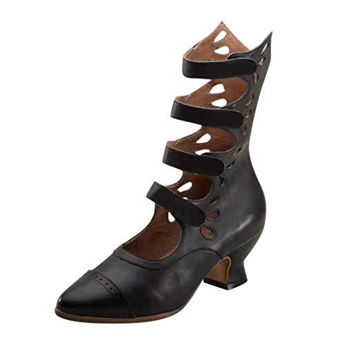 [해외]ZOMUSAR Women`s Boots Fashion Womens Breathable Pointed Toe Low-Heeled Casual Shoe Ankle Boots Sandals / ZOMUSAR Women`s Boots, Fashion Womens Breathable Pointed Toe Low-Heeled Casual Shoe Ankle Boots Sandals Black