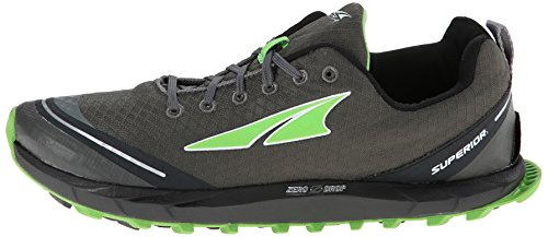 Altra - SUPERIOR 2.0 - Herren Trail Running Schuhe -Gray/Green