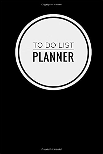 amazoncom to do list planner notebook simple effective time management minimalist styleto do list planner notebook 6 x 9 1524 x 2286 cm 81 pages