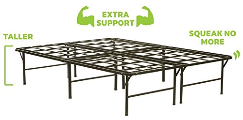 The Purple Platform Base - Mattress Foundation, Platform Bed Frame, Box Spring Replacement, Quiet Noise-Free, Maximum Under-bed Storage, King