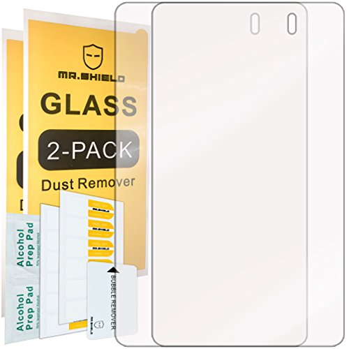 [2-Pack]-Mr.Shield for Asus (Google) Nexus 7 FHD (2nd Generation) 2013 Tablet [Tempered Glass] Screen Protector with Lifetime Replacement (Nexus 7 Tablet Replacement Screen)