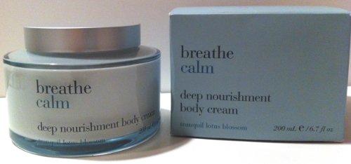 Bath & Body Works Breathe Calm Tranquil Lotus Blossom Body Cream 6.7 -