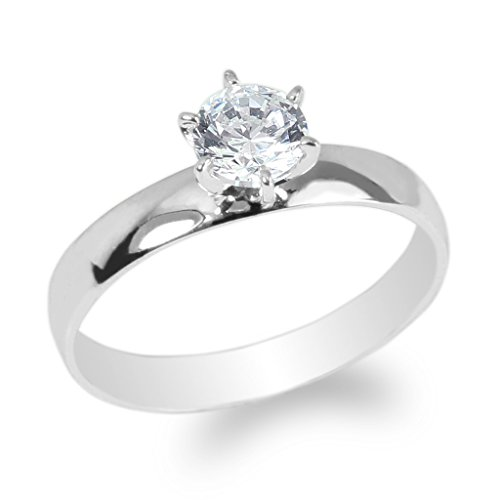 0.5 Ct Princess Solitaire - 7