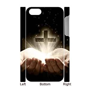 3D Bumper Plastic Case Of Jesus Christ Cross customized case For Iphone 4/4s wangjiang maoyi by lolosakes