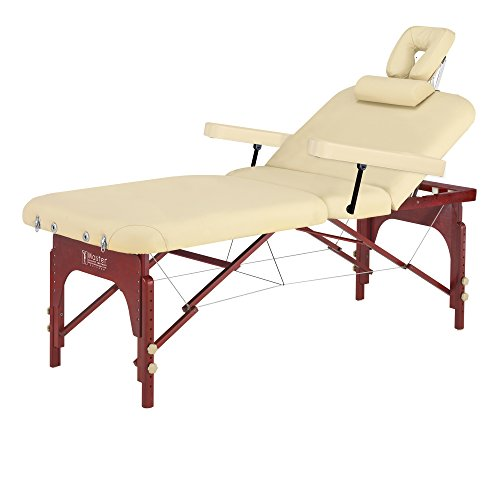 Master Massage SpaMaster Portable LX Massage Table Packag...
