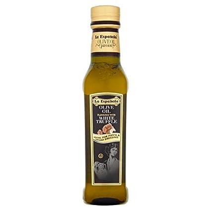 La Española Trufa blanca 250ml extra aceite de oliva virgen: Amazon.es: Alimentación y bebidas