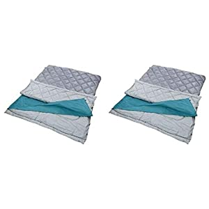 Coleman Tandem 3-in-1 45 Big and Tall Double Adult Sleeping Bag 6