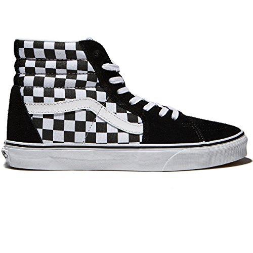 Vans Sk8 Hi Womens 7 Schack Svart Sann Vit Mode Sneaker