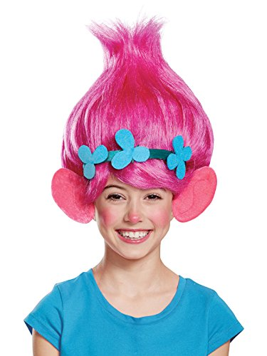 Poppy Child Trolls Wig, One Size]()