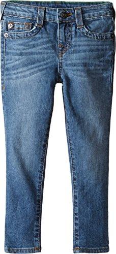 True Religion Kids Baby Boy's Tony Jeans in Casper Blue (Toddler/Little Kids) Casper Blue Jeans