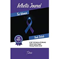 Arthritis journal for women: 120 Pages, 6