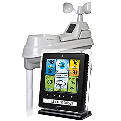 AcuRite 02064 5-in-1 Color Station with Weather Ticker and Future Forecast