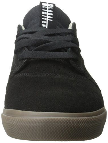 Lakai Griffin - Zapatos de cuero para hombre Black/Gum Suede