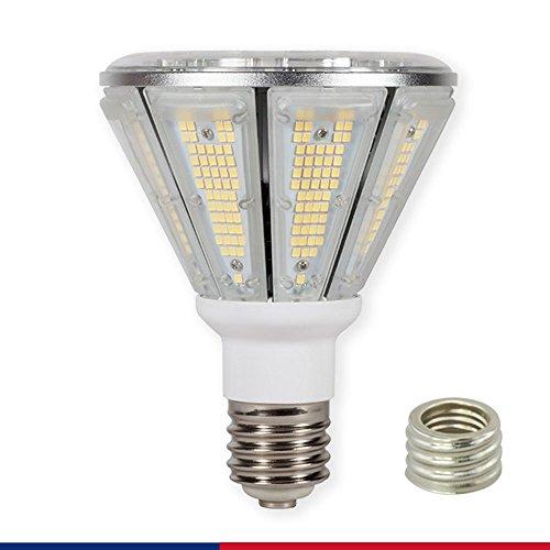 CRIOO LED Corn Light Bulb 50W 5000K Cool Daylight 135lm/w UL&DLC LED Flood Light Corn Bulb for Outdoor Street Warehouse Barn Backyard