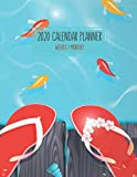 2020 Calendar Planner - Weekly / Monthly: Tropical Beaches Little Fish & Sandals Cover (1 Year) Personal & Business Organizer , Schedule , Agenda , ... Men Teens Kids (Tropical Beaches Calendar)
