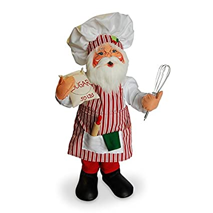 c6a83a1e898c2 Image Unavailable. Image not available for. Color  Annalee - 20in Christmas  Chef Santa