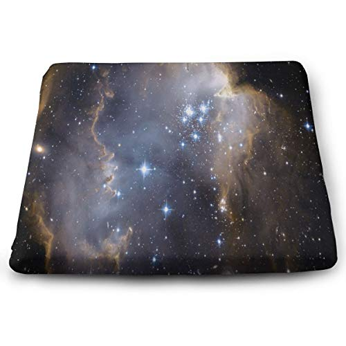 (Ladninag Seat Cushion Outer Space Stars Chair Cushion Offices Butt Chair Pads for Cars/Outdoors/Indoor/Kitchens/Wheelchairs)