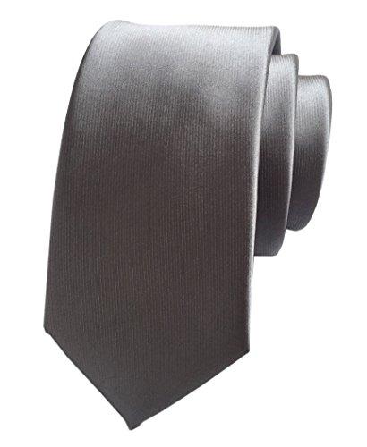 Secdtie Mens Silver Grey Silk Handmade Ties Extra Long Jacquard Woven Dating 16